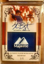 Kris Bryant 2013 Rookie Jumbo Patch  not bowman ~ 1/1  Majestic Tag Auto ~ RARE