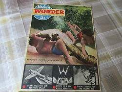 Modern Wonder Pictorial Review 22/04/1939 Gas Unlimited Centre And Electric Ferry