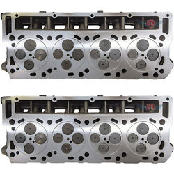 New O'ringed Complete Ford 6.0 18mm Turbo Diesel Truck Cylinder Heads Pair 03-05