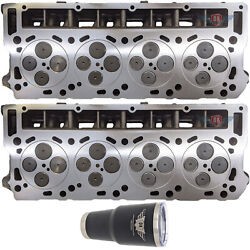 Ford Powerstroke 6.0 New 18mm Hd High Performance Cylinder Head Pair No Core