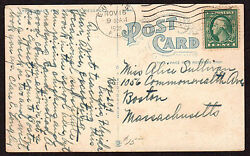 Florida Machine Cancel Cover Eustis 11/16/1921 7 Wavy Lines Slope Up