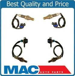 New Front And Rear O2 Oxygen Sensor Direct Fit For 2007 Tahoe 5.3l Vin O And J 4