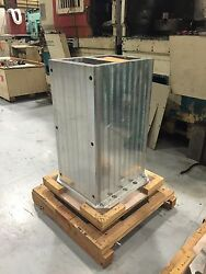 Tombstone Welded Aluminum 2 19.7 X 19.7 Base X 30.5 Height 18x14 Tower