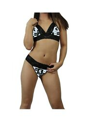 Michigan State Spartans Ncaa Lingerie Lace Cami Tie Top G-string Custom Sizing
