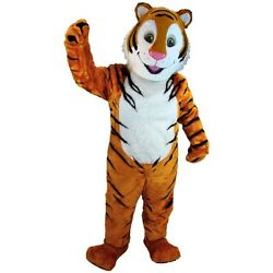Cartoon Tiger Professional Quality Lightweight Mascot Costume Adult Size