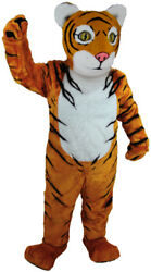 Tiger Cub Professional Quality Lightweight Mascot Costume Adult Size