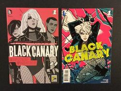 Black Canary 1 Comic Books Regular And Sdcc Exclusive Variant Dc 2015 Green Arrow