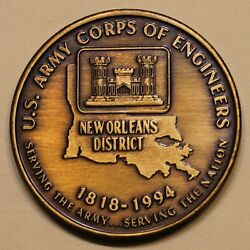 Us Army Corps Of Engineers New Orleans District Army Challenge Coin