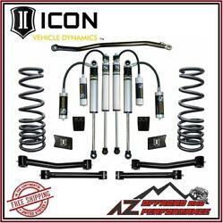Icon 2.5 Suspension System Stage 3 For 2003-2012 Dodge Ram 2500 3500 4wd