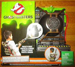 Ghostbusters Proton Pack Projector With Exclusive Slimer Ecto Mini
