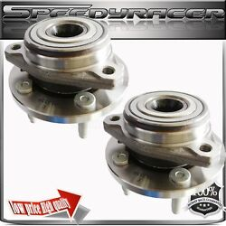 Two 1999 2000 2001 2002 2003 Ford Windstar Front Wheel Hub Bearing All Models