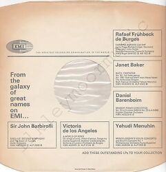 Vintage Inner Sleeve Or Sleeves 12 Emi From The Galaxy Of Great Names Thick X 1