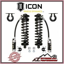 Icon 2.5-3 Lift Bolt-in Coilover Conversion Cdcv For 05-16 Ford F250 F350 4wd