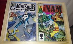 The Punisher War Journal 1 Nov 1988 Marvel And The Nam 1 19862 Comic Lot