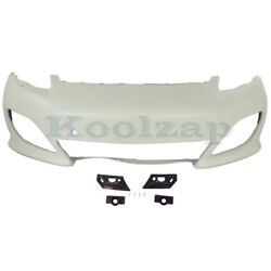 10-13 Panamera W/sport Front Bumper Cover Assembly Primed Po1000173 97050591125