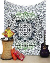 Indian Mandala Bohemian Tapestry Queen Wall Hanging Hippie Bedspread Decor Throw