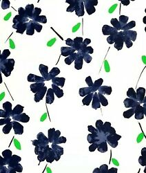 Donald Sultan And039wall Flowers Black And Greenand039 Signed Ltd Edition Silkscreen Print