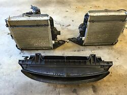 2007 Porsche GT3 Outer Two front Radiator Asssemblies