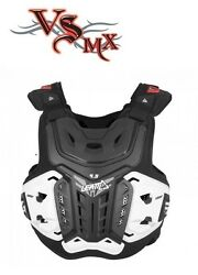 Leatt Chest Protector 4.5 Adult Black Ce Level 2 Back And Chest Protector