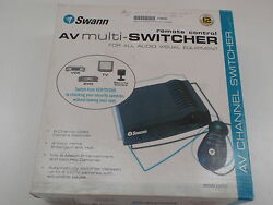 SWAN SW-P-AVMH AV MULTI-HUB  REMOTE CONTROL MULTI CHANNEL SWITCHER
