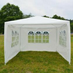 10and039x10and039outdoor Heavy Duty Canopy Party Wedding Tent Gazebo Pavilion Cater Events