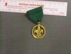 Boy Scout British Honor Medal Green 6643bb