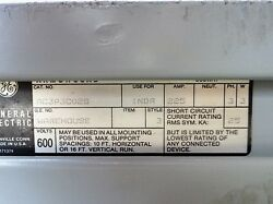 General Electric Armor-clad Copper Busway Cat Ac3p3c02s. 225a 3ph 3w
