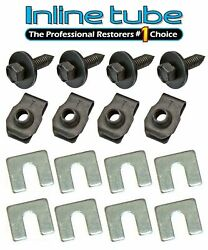Gm Correct Lower Fender Body Front End Hardware Bolts Anchor Head Point 16 Pc