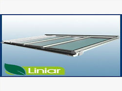 4.0 Metre Projectionaway From Wall Liniar Complete Roof Kit 32mm Thickness