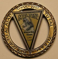 Seal Team 7 Special Warfare 10th Special Forces Sotf-w Navy Army Challenge Coin