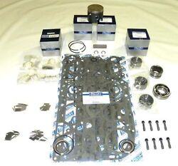 Wsm Outboard Mercury 100 / 115 Hp 4 Cyl Rebuild Kit Top Guided 100-35-30