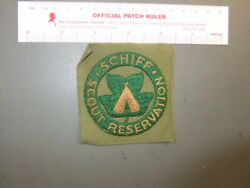 Boy Scout Schiff Reservation On Khaki Square 7835aa