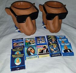 2 Joe Cool Camel Kool Buddies Beer Can Holder Coozie And Matches Cigarettes