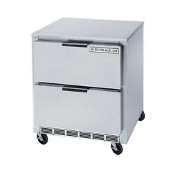 Beverage Air Ucrd27ahc-2 27 Undercounter Reach-in Refrigerator W/ Drawers