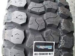 4 New 33x12.50r20 Ironman All Country Mud Tires 33125020 33 1250 20 12.50 12 Ply