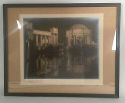 1915 Palace Of Fine Arts Silver Gelatin Photo Print - Pan Pacific Expo Signed