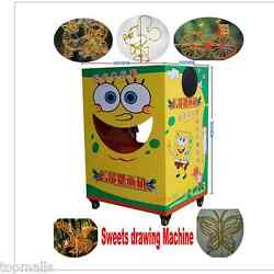 Digital Sugar Candy Sweets Syrup Painting Drawing Machine W/ Music Self-promote