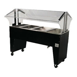 Advance Tabco B4-cpu-b 62 Ice Cooled Portable Food Buffet Table