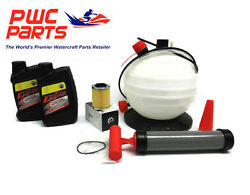 Seadoo Spark Brp Oil Change Kit Ace 900 Oem Filter O-ring Oil Extractor Pump New