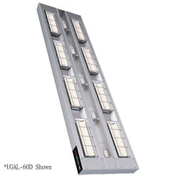 Hatco UGAL-66D6 Infrared 4220 Watt Heat Lamp with Lights and 6