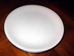 Six Porcelain Dinner Plates Noritake 5594 Silverdale 1954-1971 Discontinued