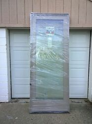 New Andersen Wood Fixed Picture Window W/ Cladding And Tempered Glass 39 X 96
