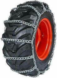 Quality Chain 0893 11mm Field Master Link Tractor Tire Chains Snow Traction