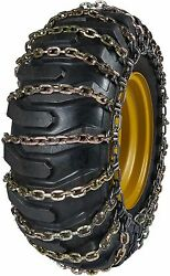 Quality Chain 6527-2 11mm Square Link Loader Grader Tire Chains Snow Traction