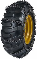 Quality Chain 9948 13.5mm Studded Link Loader Grader Tire Chains Snow Traction