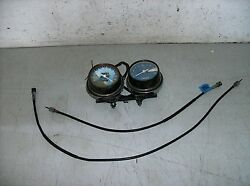 1975 Honda Cb550 Gauges And Cables For Parts 10/74