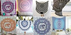 400 Wholesale Lot Handmade Queen Tapestry Mandala Wall Hanging Throw Beach Cover