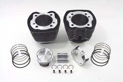 Usa Made 103 Twin Cam Cylinder And Piston Kit For Tc-96 Engine Fxst 2007-10