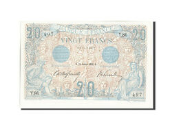 [208920] France 20 Francs 20 F 1905-1913 And039and039bleuand039and039 1906 Km68a 1906-01-26