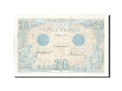 [208921] France 20 Francs 20 F 1905-1913 And039and039bleuand039and039 1912 Km68b 1912-04-27